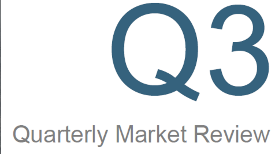 Lessons from Q3 Market Returns