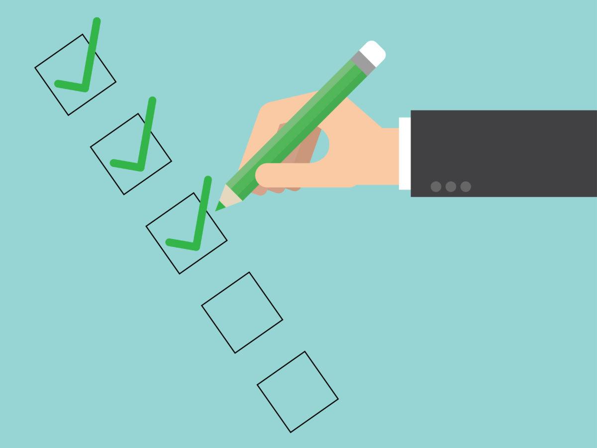 2020 End of Year Checklist